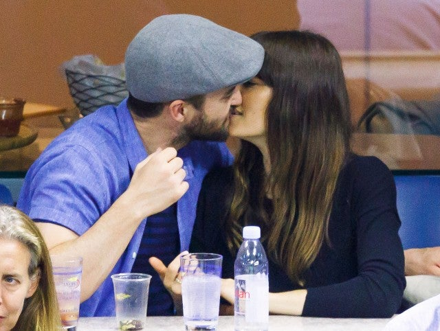 Justin Timberlake and Jessica Biel love for each other goes on strong as they are seen flirting with each other while cheering on the players Federer vs. Lopez at Arthur Ashe Stadium in New York City.