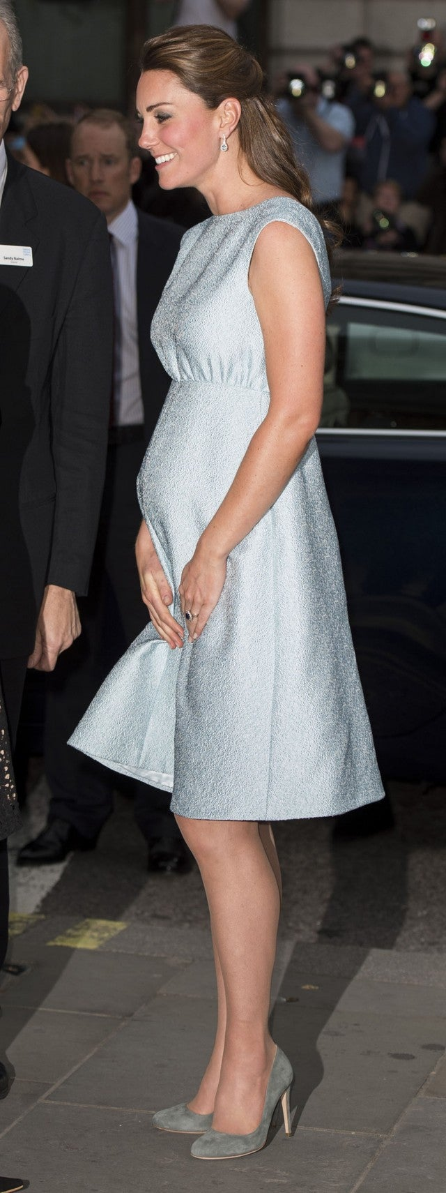 Kate middletons top 10 pregnancy looks see her regal maternity kate middleton pregnant ombrellifo Choice Image