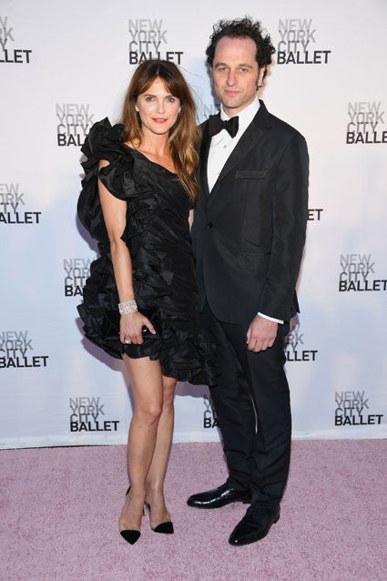 Keri Russell and Matthew Rhys at NYC Ballet
