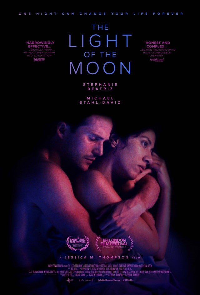 Stephanie Beatriz, Michael Stahl-David, 'The Light of the Moon' Poster
