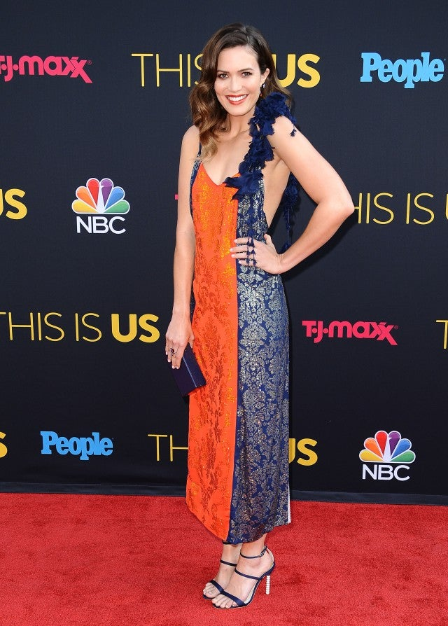 Mandy Moore at This Is Us premiere