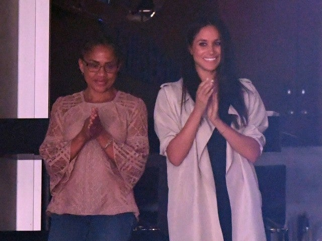 Meghan Markle and Mom Doria Radlan