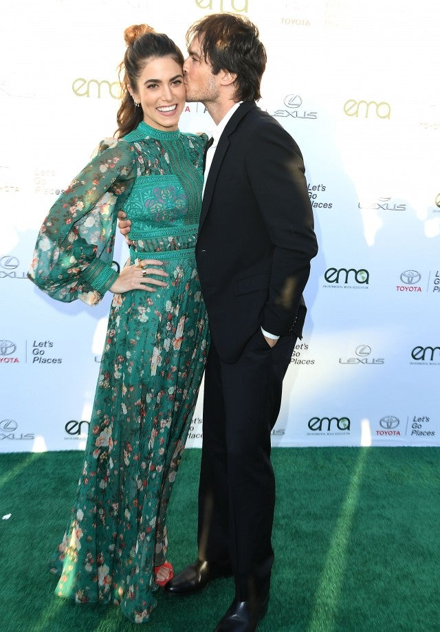Nikki Reed and Ian Somerhalder at the 27th Annual EMA Awards