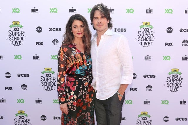 Nikki Reed and Ian Somerhalder at XQ Super School Live