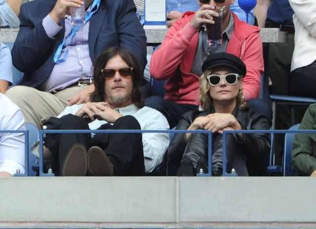 Norman Reedus and Diane Kruger at the US Open