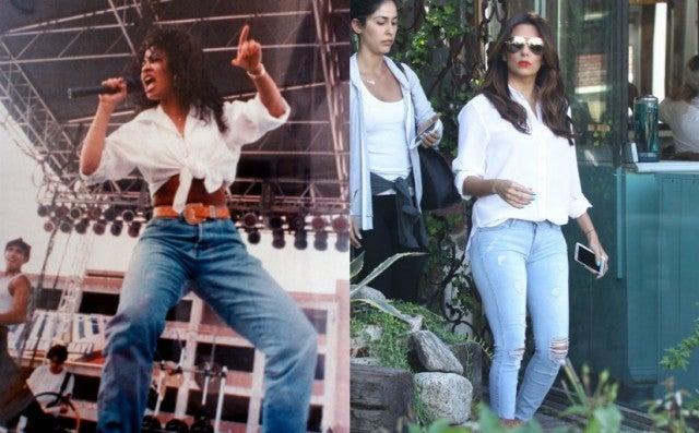 9 Times Celebs Borrowed Selena Quintanilla S Look
