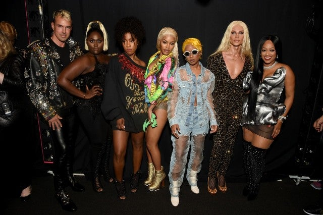 Teyana Taylor Danielle Brooks The Blonds NYFW