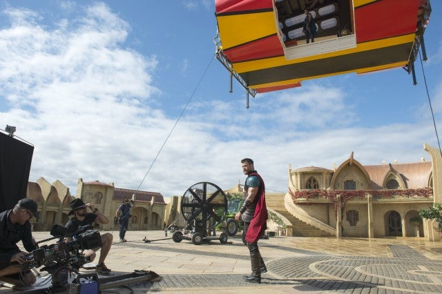 Chris Hemsworth in 'Thor: Ragnarok'