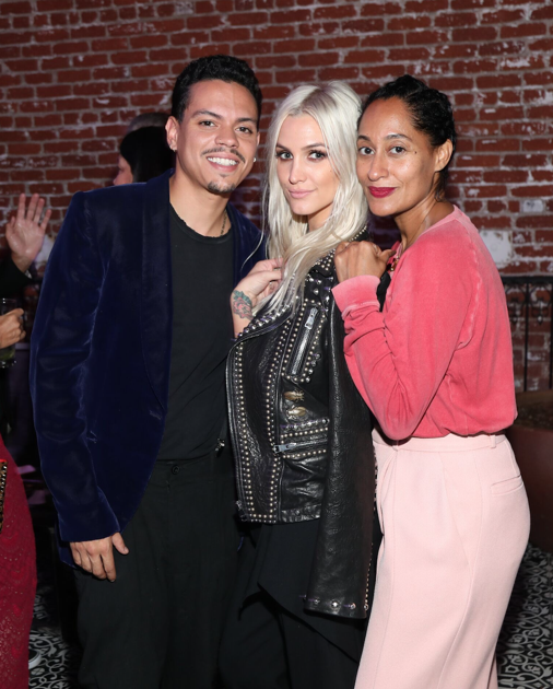 Evan Ross, Ashlee Simpson Ross and Tracee Ellis-Ross