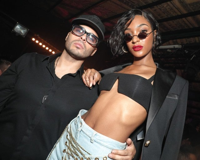 Richie Akiva and Jourdan Dunn