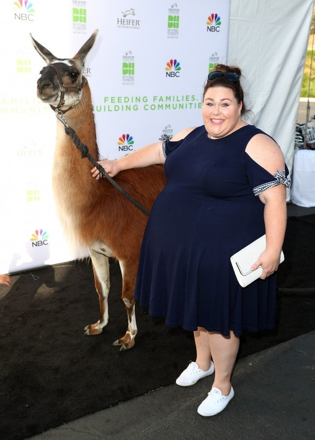 Chrissy Metz at Heifer International event