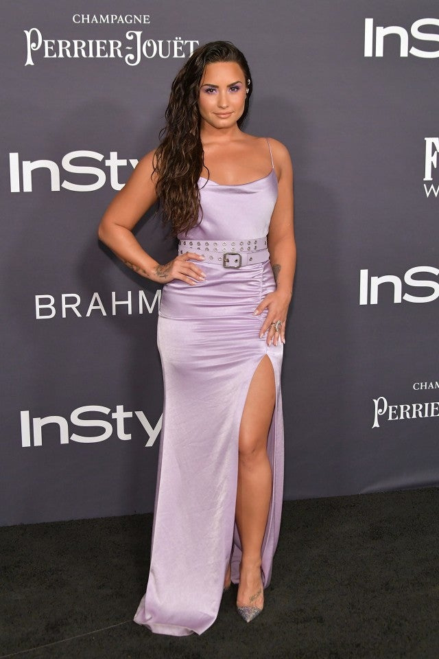 Demi Lovato at the InStyle Awards