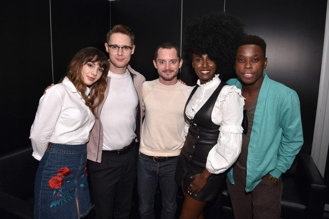 Cast of Dirk Gently's Holistic Agency at NY Comic Con