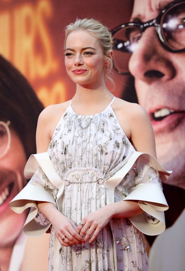 Emma Stone at Battle of the Sexes European Premiere