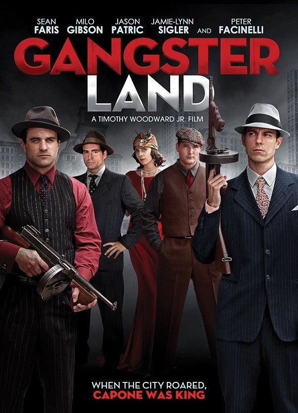 Milo Gibson, 'Gangster Land' Poster