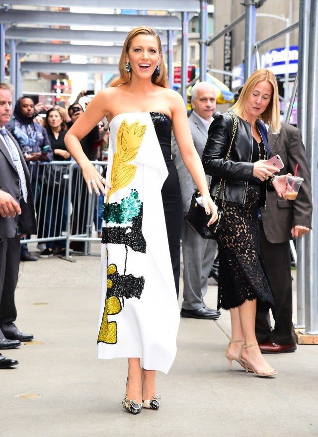 Blake Lively after GMA