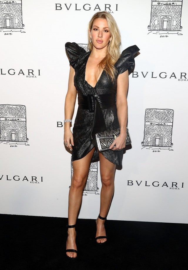 Ellie Goulding at Bulgari opening