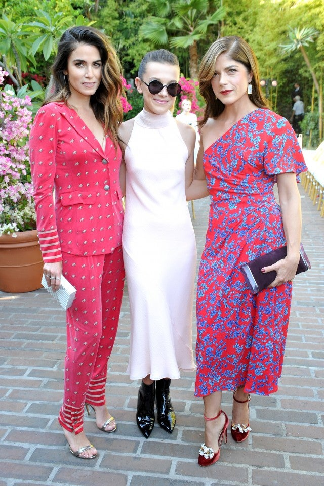 Nikki Reed, Millie Bobby Brown and Selma Blair attend CFDA/Vogue Fashion Fund Show and Tea