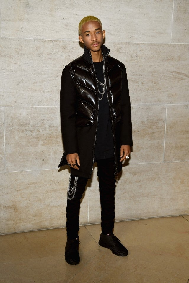 Jaden Smith at Louis Vuitton Paris Fashion Show