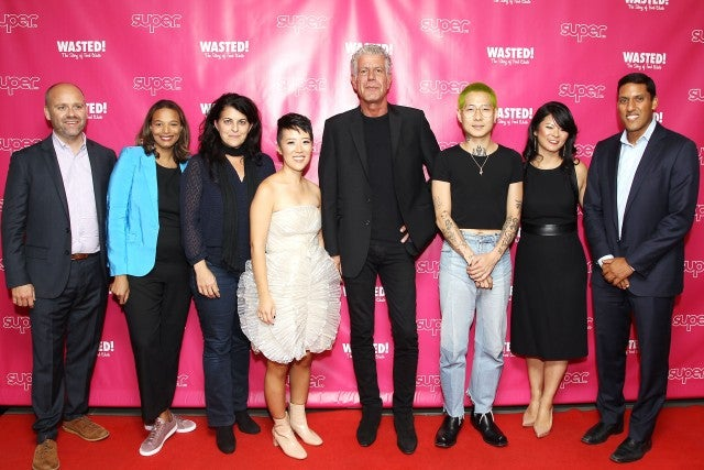 Anthony Bourdain at 'Wasted' Premiere