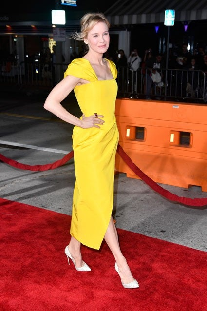 Renee Zellweger in yellow