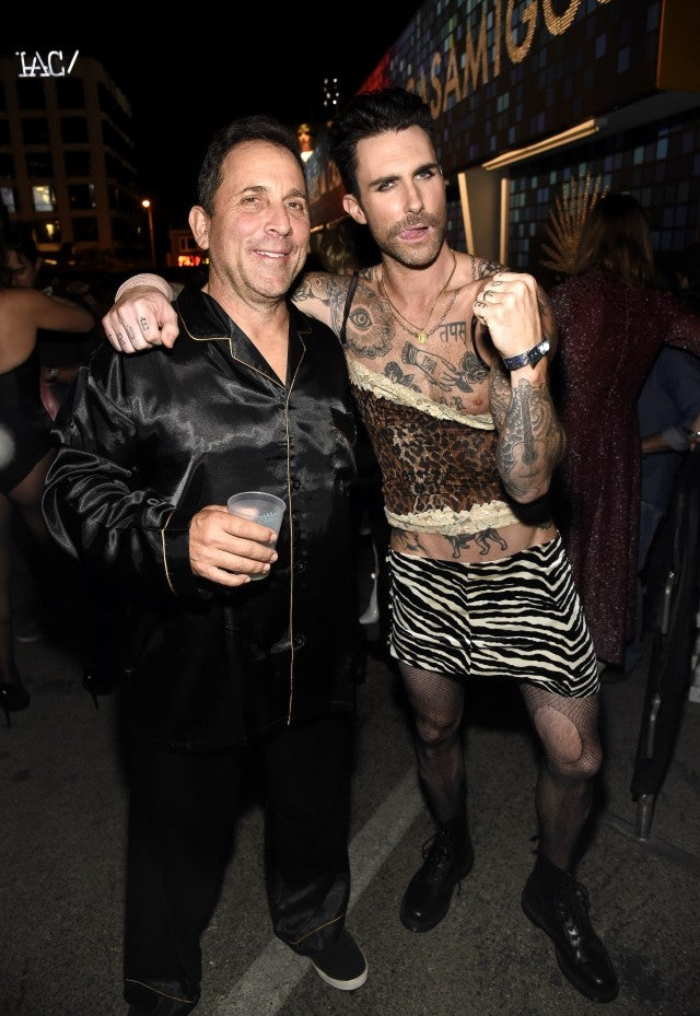 Adam Levine attends Casamigos Halloween party