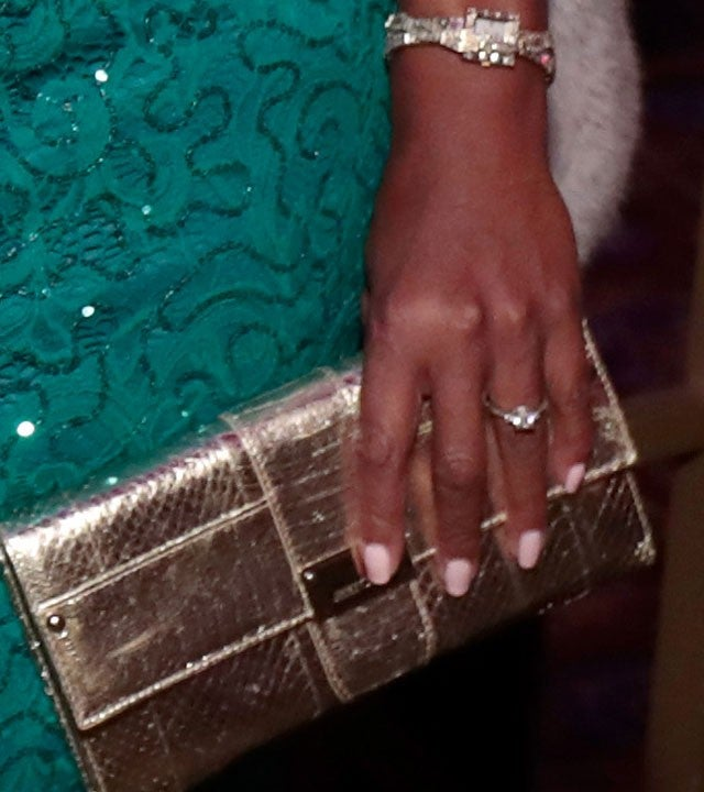 Star Jones engagement ring