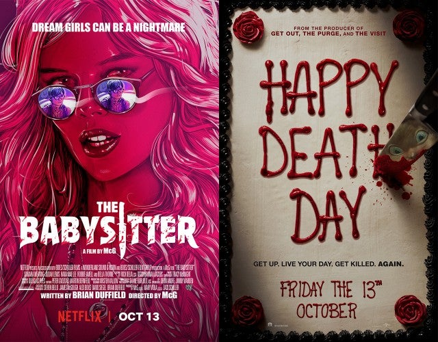 'The Babysitter,' 'Happy Death Day' Posters