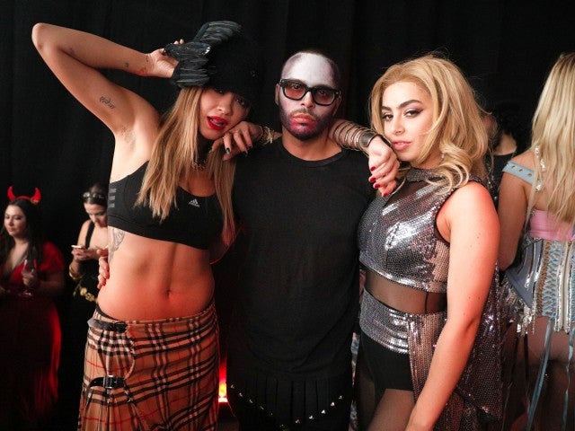 Rita Ora, Richie Akiva of The Butter Group and Charli XCX were spotted at 1Oak, Up&Down and Spring Studios / Spring Place's Halloween after party