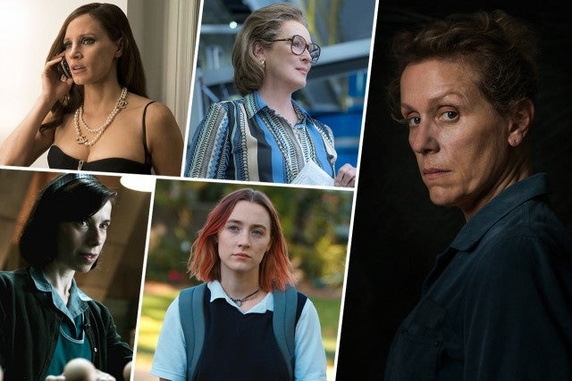 2018 Oscar Predictions Round 1, Best Actress