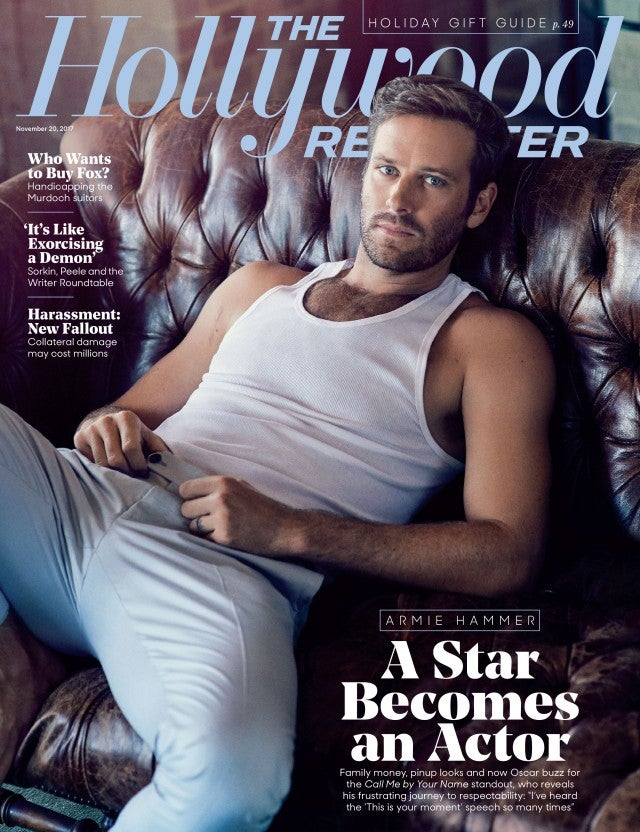 armie hammer hollywood reporter cover