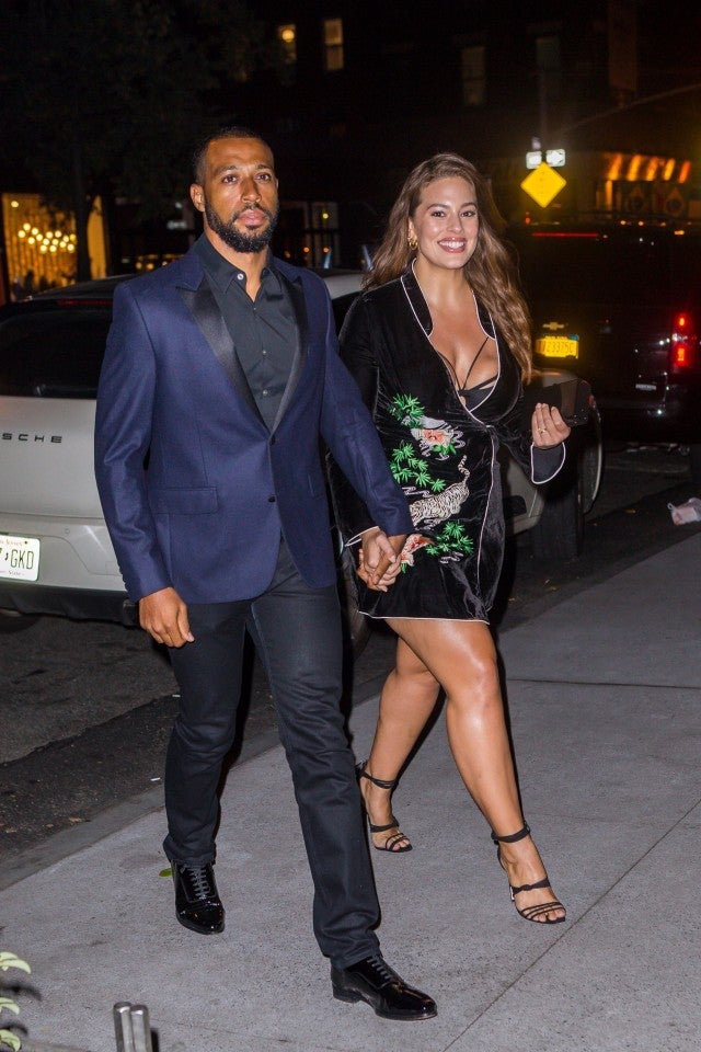 Ashley Graham and husband Justin Ervin