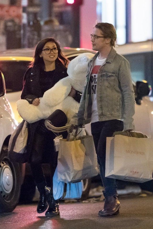 Macaulay Culkin Treats Girlfriend Brenda Song To Paris