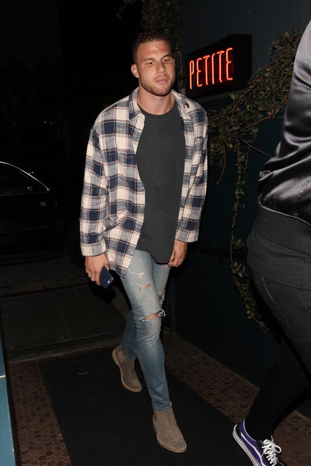 Blake Griffin attends Kendall Jenner's birthday party