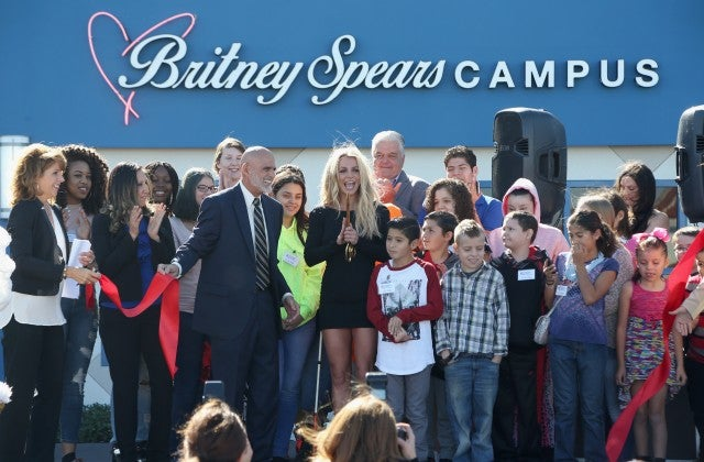 Britney Spears at Nevada Childhood Cancer Foundation Opening