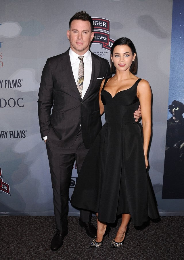 Channing and Jenna Dewan Tatum at 'War Dog: A Soldier's Best Friend' premiere
