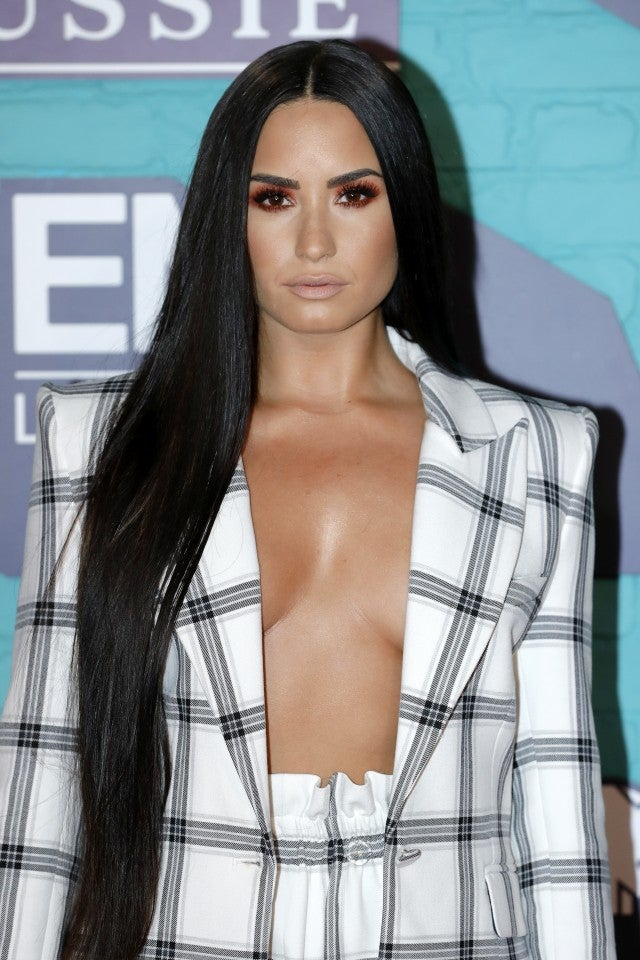 Demi Lovato at the MTV EMAs 2017