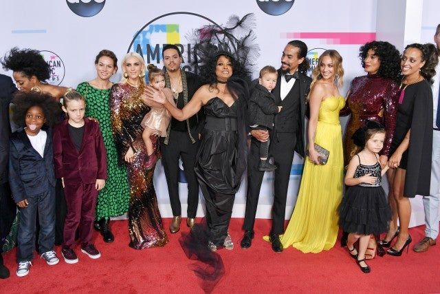 diana ross family 2017 amas