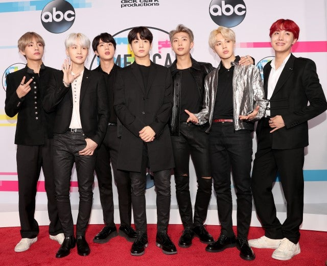 Bts Best Moments At The American Music Awards From Dancing To