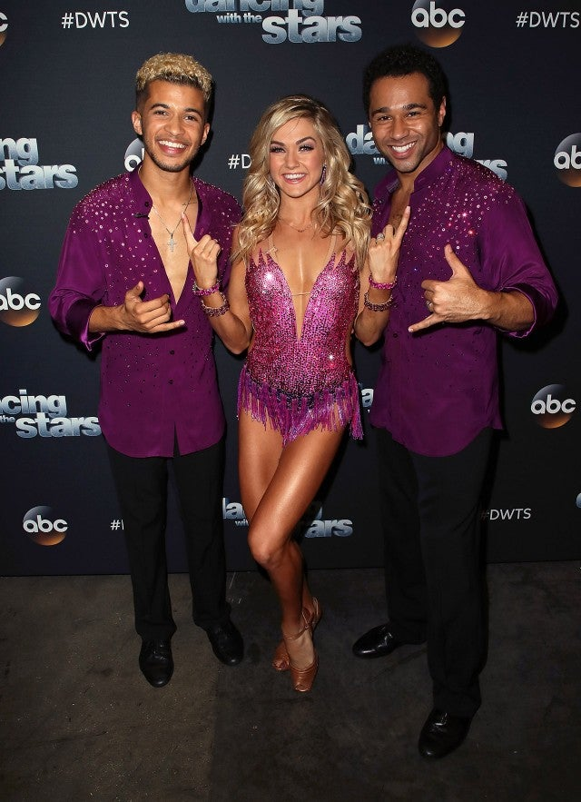 Jordan Fisher, Lindsay Arnold, Corbin Bleu on 'DWTS'
