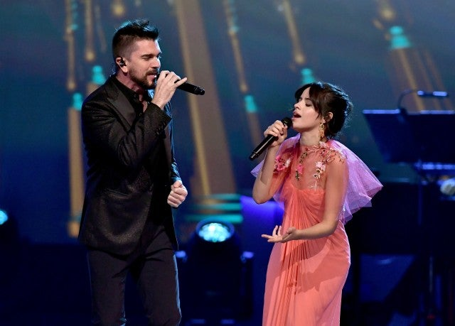 Juanes and Camila Cabello 2017 Person of the Year Gala