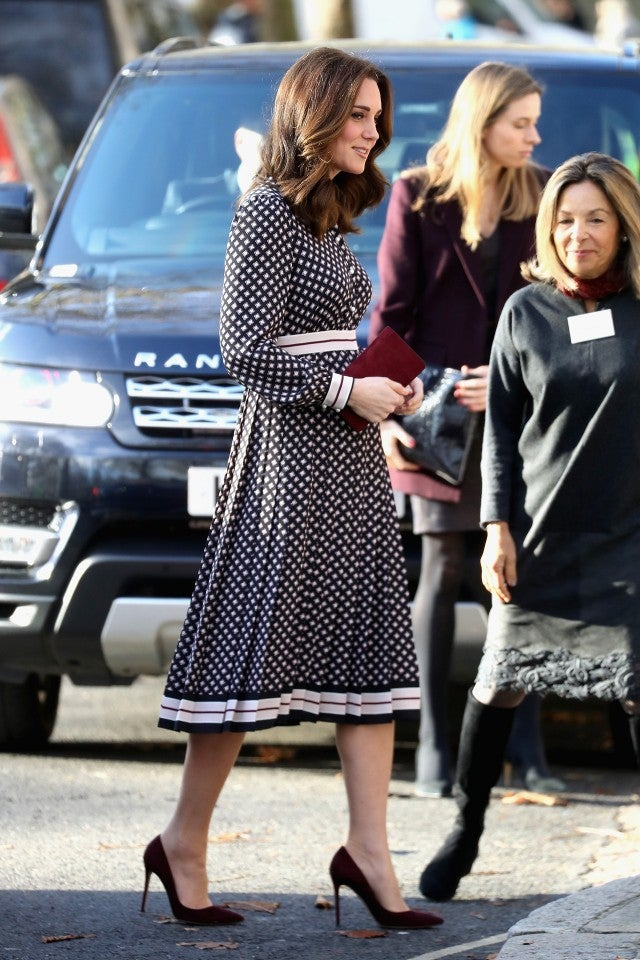 Kate Middleton attends event