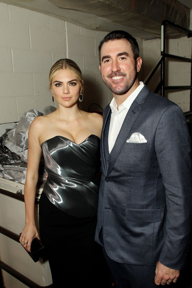 Kate Upton and Justin Verlander at Night of Too Many Stars 11/19/17