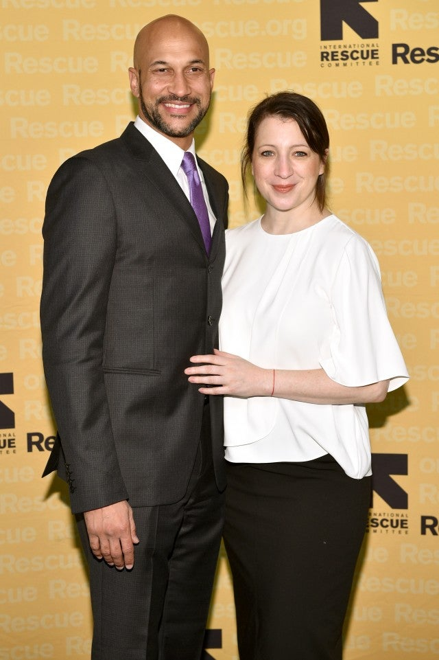Keegan Michael Key and Fiance Elisa Pugliese