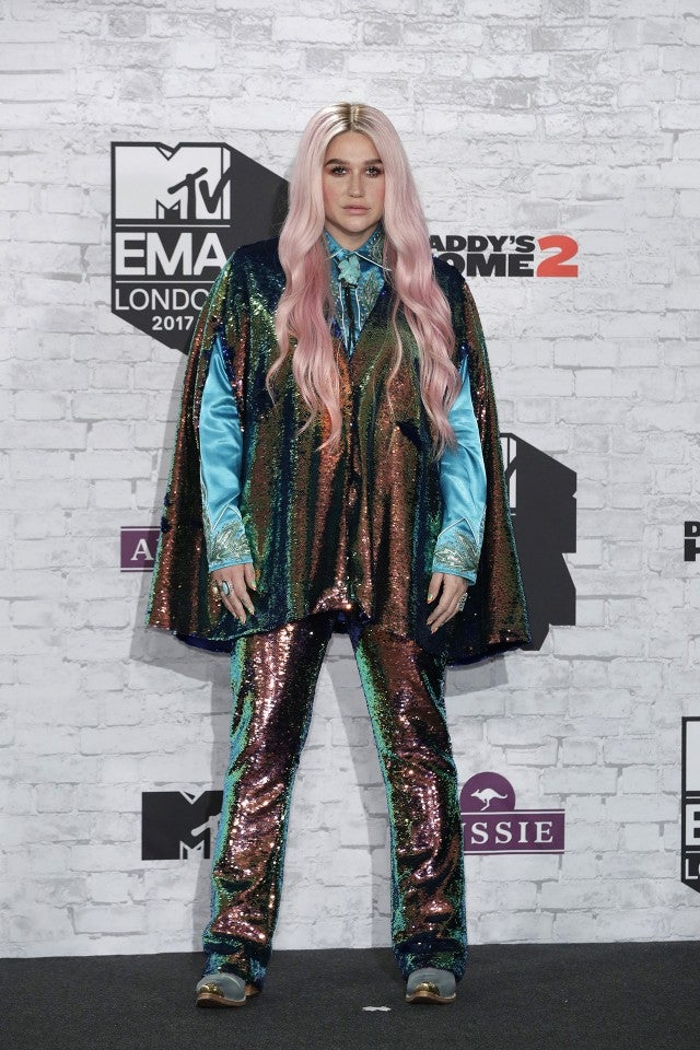 Kesha at MTV EMAs