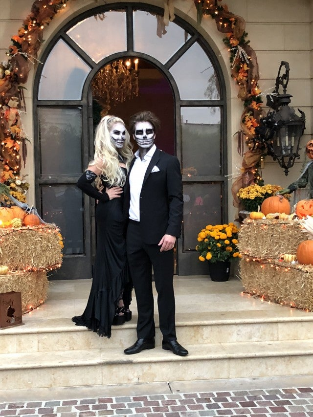 Adrienne Maloof's halloween party
