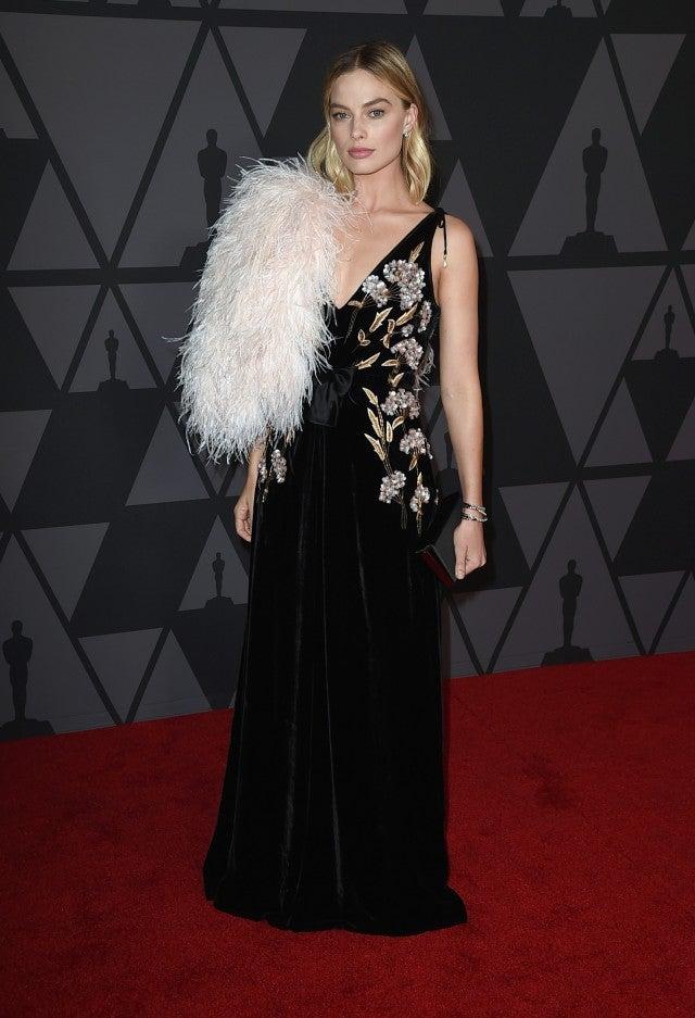 98c718c6d7dc7 Margot Robbie Governors Awards