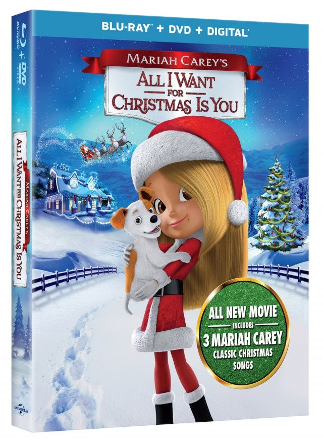 mariah careys all i want for christmas is you - Christmas Movie Songs