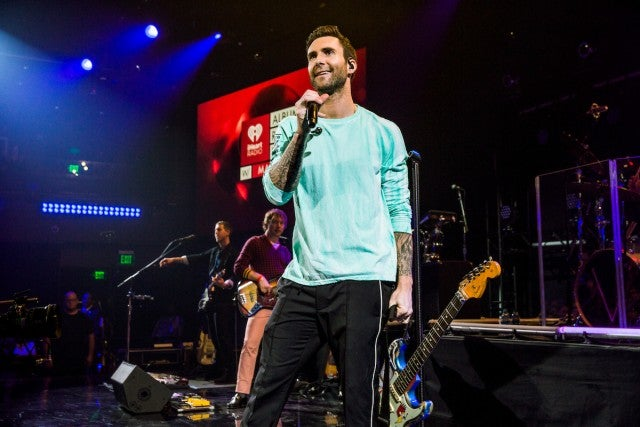Maroon 5 at album release party