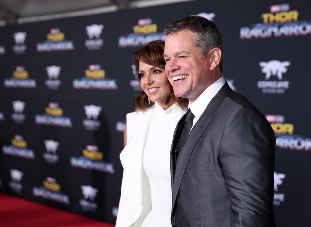 Matt Damon at 'Thor: Ragnarok' Premiere